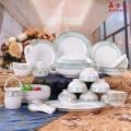 定做中秋陶瓷礼品高档骨质瓷餐具