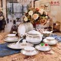 供应日用陶瓷餐具,高档礼品餐具,青花瓷餐具