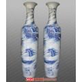中国红桃花源记陶瓷大花瓶,宁波陶瓷大花瓶专卖