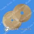 文具胶带分条机刀片 PVC环保收缩膜分切机圆刀片