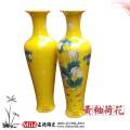 定做老人贺寿礼品陶瓷大花瓶,寿比南山陶瓷大花瓶