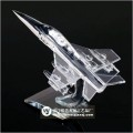 西安水晶模型制作 西安水晶飞机模型摆件 西安航空模型