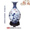 景德镇青瓷花瓶,大师手绘高档花瓶