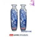 乔迁礼品陶瓷大花瓶,景德镇红色大花瓶