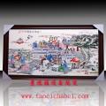 景德镇手绘粉彩瓷板画