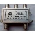 公制F头四分配器(408规格分配器),广电信号传输器材
