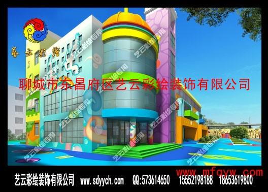 幼儿园大门环境布置 幼儿园国庆环境布置