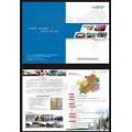 西安專業宣傳彩頁設計-制作-印刷  認準騰夕廣告