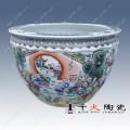 陶瓷鱼缸定制 客厅摆件陶瓷大缸厂家供应