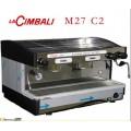 意大利金佰利M27新款雙頭手控商用半自動咖啡機