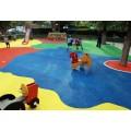 彩色颗粒 塑胶原色颗粒 EPDM橡胶颗粒 幼儿园地面