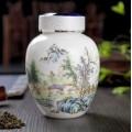 高档茶叶包装罐 陶瓷茶叶罐定做批发