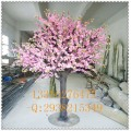 正品仿真桃花 白色粉色紫色假桃花 日本桃花真樹