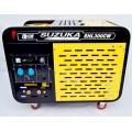 焊6.0焊条300A柴油发电焊机