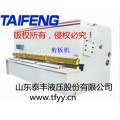 泰丰处理第二代液压剪板机/抵账机子