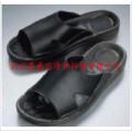 金品質防靜電黑色PU拖鞋|防靜電舒適工作拖鞋-鼎盛達生產