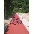 温州  丽水 金华彩色防滑路面材料厂家价格 鸿坤知道