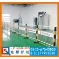 扬州订制带LOGO板车间隔离网 厂区隔断 龙桥专业订制