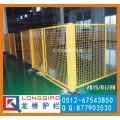 扬州移动车间隔离网 高质量移动厂区防护网 无需打地螺栓