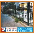 扬州厂区围墙护栏 扬州围墙栏杆 镀锌钢管拼装护栏