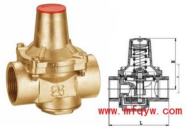支管减压阀主要用于各种建筑给水系统,消防系统,中央 空调图片