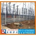 苏州部队护栏 部队围墙防盗栏杆 苏州龙桥护栏厂家生产