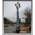 景德镇陶瓷灯柱厂家,陶瓷路灯瓷灯柱,1.2米瓷灯柱