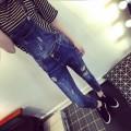 网上直销韩版牛仔背带裤批发北海女装货源便宜批发