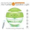 廠家最新批發創意禮品多功能空氣凈化水凈器無線藍牙炫彩音響燈