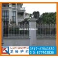 南京高档铝合金围墙护栏 全铸铝合金大门 高端大气龙桥订制