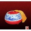 高档礼品陶瓷茶叶罐,蜂蜜罐,食品包装罐