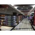 門店貨架、展示架與展示柜,很多應用場合都是一體化的