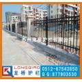 常熟小区外墙护栏 常熟小区围墙锌钢护栏 免焊护不维护
