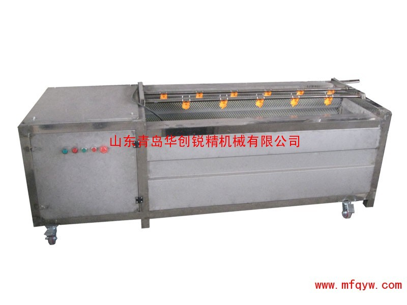 潍坊毛辊去皮清洗机-胡萝卜去皮清洗机真尺寸纸盒包装设计果粒图片