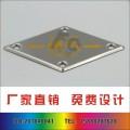 腐蚀铝制标牌 机械设备牌 设备腐蚀提示牌 腐蚀拉丝标牌
