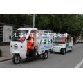多功能深根施肥机LP-300电动多功能园林绿化养护车