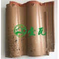 日本进口波形瓦  双龙瓦 M型洋瓦 西式风情 亮色瓦时尚
