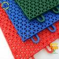 悬浮式拼装运动地板/圆柱米格地板/篮球场专用耐磨防滑抗压地板