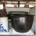 青花陶瓷泡澡缸  极乐汤泡澡缸 洗浴中心泡澡大缸