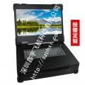 15.6寸工業便攜機機箱定制軍工電腦機箱加固筆記本H81