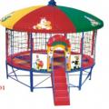 快樂時光玩具廠直供幼兒園蹦床