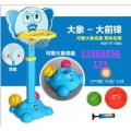 快樂時光玩具廠直供幼兒園籃球架  卡通造型籃球架