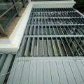 户外铝合金电动中空平板遮阳板