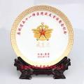 陶瓷盘印照片