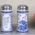 中山陶瓷直杆杯,企业周年庆纪念水杯, 澳门个性茶杯制作