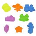 儿童diy益智玩具 太空沙模具动物城堡模型 厂家直销
