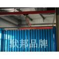 默邦品牌高性能防电焊光门帘,防弧光pvc软帘