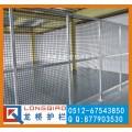 无锡铝合金厂区隔离网 铝合金仓库隔离网龙桥订制铝型材隔离网
