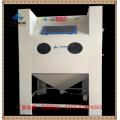 供应手动加压干喷砂机 手动箱式干喷砂机 棕刚玉