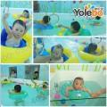 宁夏吴忠婴儿游泳馆设备厂家供一体成型4米亚克力儿童游泳池设备